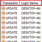 Analyze SQL Transactions