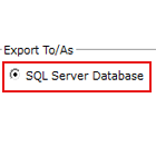 Export Database Transactions
