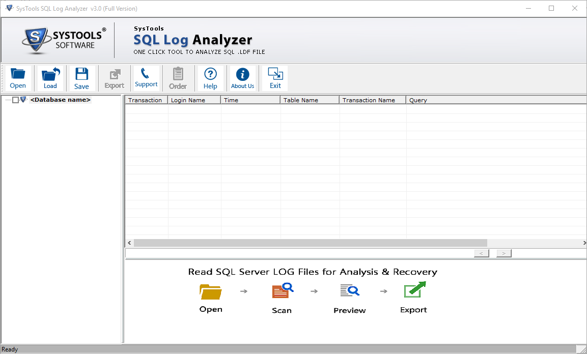 SQL Transaction Log Reader