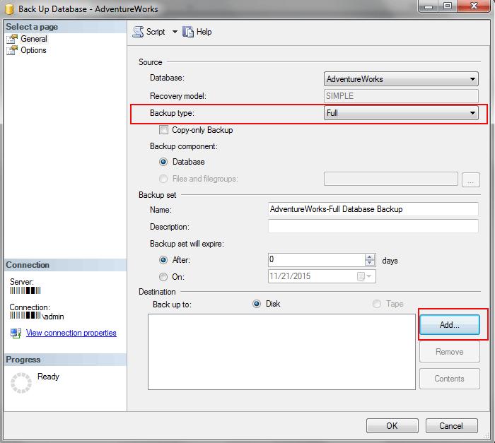back-up-database-window