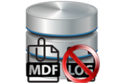 Attach MDF Without LDF File Icon