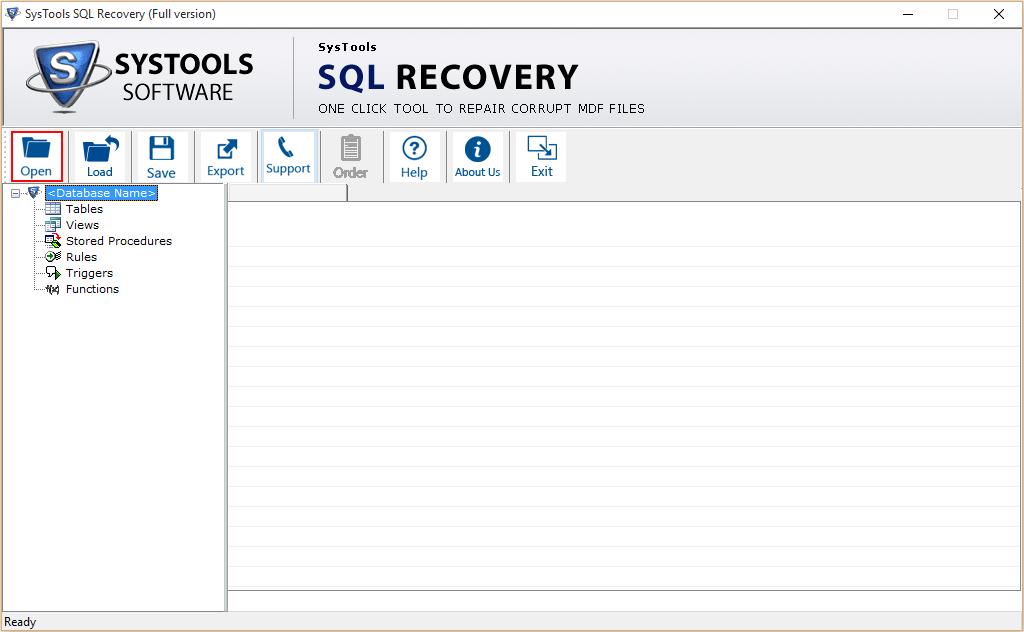SQL MDF Viewer