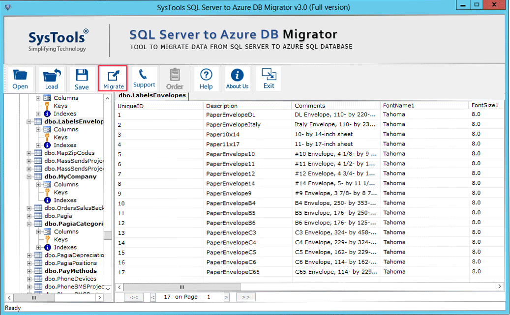 sql to azure migration