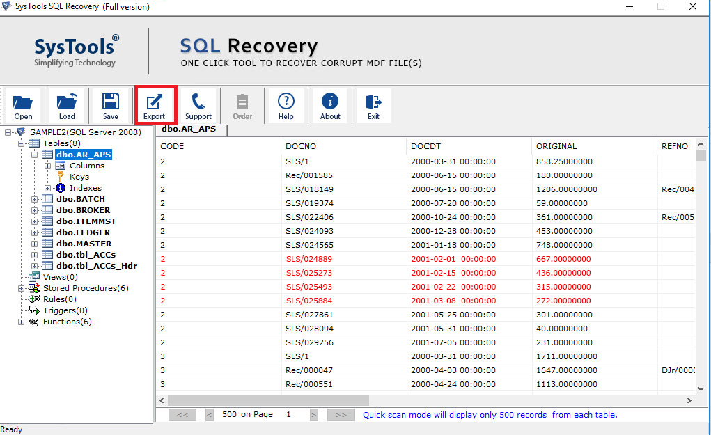 Recover Deleted SQL Database