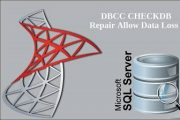 DBCC CHECKDB Repair Allow Data Loss Failed